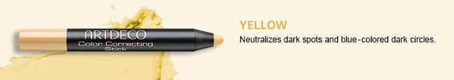 Color Correcting Stick in Yellow