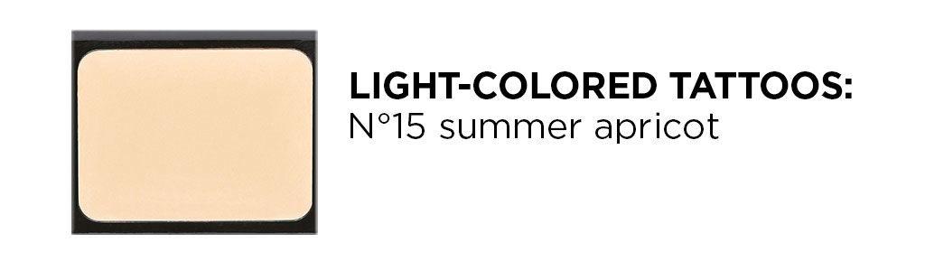 Ein Produktbild der Camouflage Cream in der Farbe summer apricot