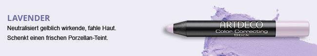 Hier siehst Du den Color Correcting Stick in der Farbe Lavender