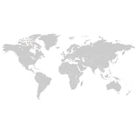 Auf einer Weltkarte sind die Export-Länder inklusive Deutschland farblich gekennzeichnet