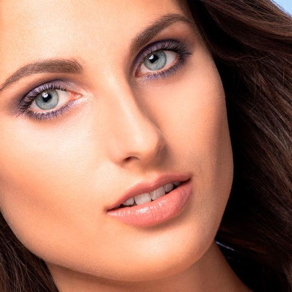 End-Look zum Frühlings Make-up