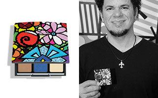 Romero Britto Artdeco Beauty Box