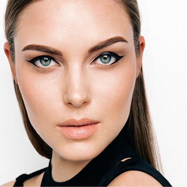 End-Look des Eyeliner auftragen Schminktipps